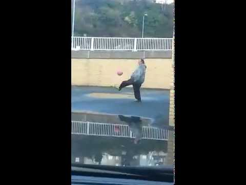 Andrew Cassidy Has Amazing Football Skills (Welsh Maradona)