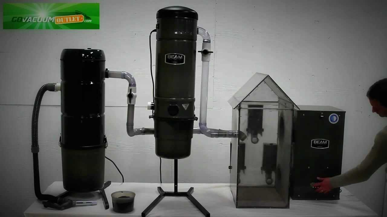 Beam Central Vacuum Amp Hepa Whole House Filter System