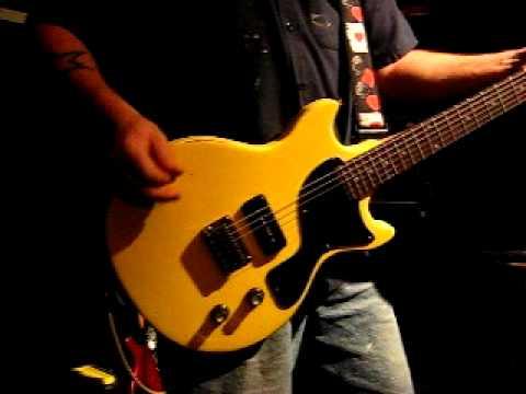 Mike Gee Kustoms USA Custom Shop Les Paul DC / TV Yellow / P-90 / Johnny Thunders / Hot Rod Relic