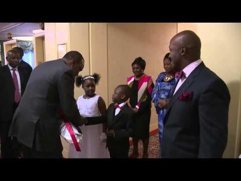 President Uhuru Kenyatta Arrives in New York for UNGA
