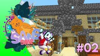 Toko menjadi MALL CreamTeam?! - Minecraft Indonesia Sans SMP Episode 2