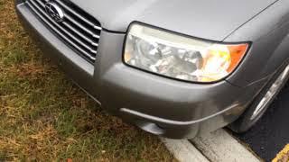 "2006 Subaru Forester ""Car Finder"""
