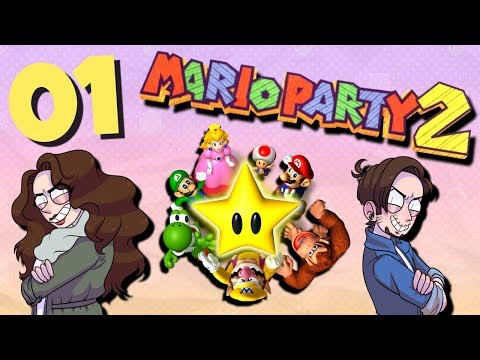 Mario Party 2 - PART 1: The Hunt for Pirate Booty thumbnail