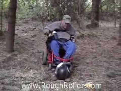 Rough Roller Off Road Wheelchair Device - Rough Terrain