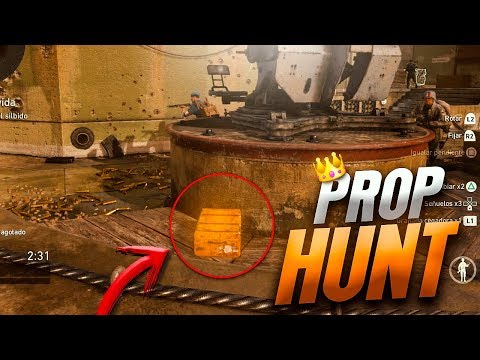 COMO SER EL REY EN PROP HUNT | CALL OF DUTY: WW2