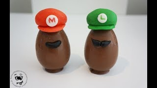 DIY Suklaamunat | Chocolate eggs