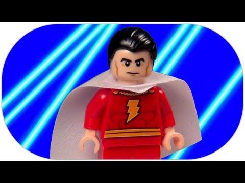 LEGO Shazam SDCC LEGO DC Super Heroes Minifigure Review