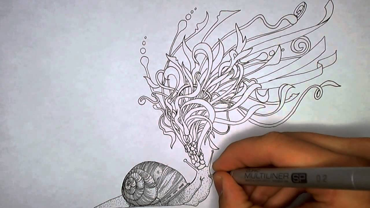 Snail Emperor Drawing And Inspiration Youtube