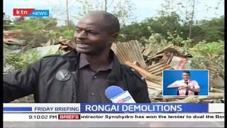 Homes brought down in Nkoroi | Rongai Demolitions