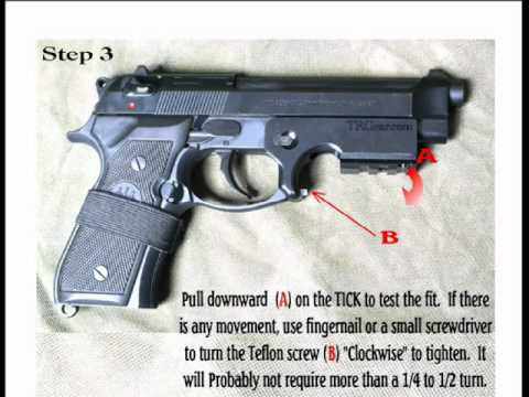 EZ Rail for Beretta - how to  Installation.wmv