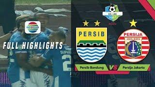 Persib Bandung (3) vs (2) Persija Jakarta- Full Highlights | Go-Jek Liga 1 Bersama Bukalapak