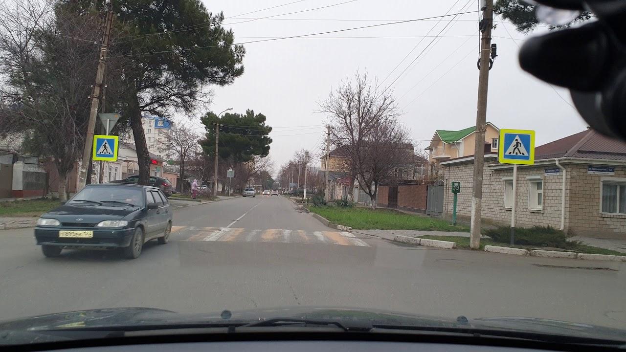 #АНАПА - ул. Тургенева 4к - на машине