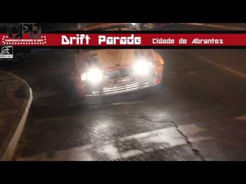 Desfile da caravana CPD na cidade de Abrantes - Drift parade (Ronda 2 CPdrift 2013)