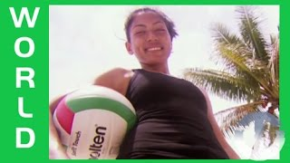 Volleyball in the Marshall Islands on Trans World Sport