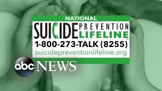 FCC approves new phone number for suicide prevention hotline | ABC News