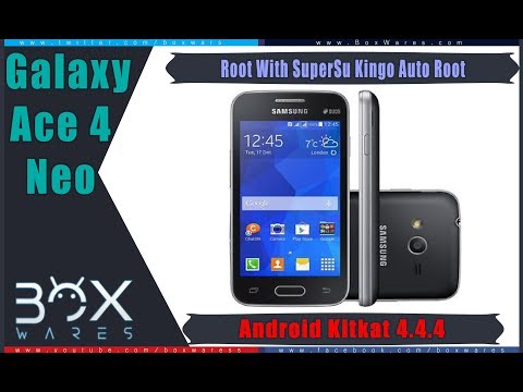 How to Root SAMSUNG Galaxy Ace 4 Neo SM G318H DS 4.4.4
