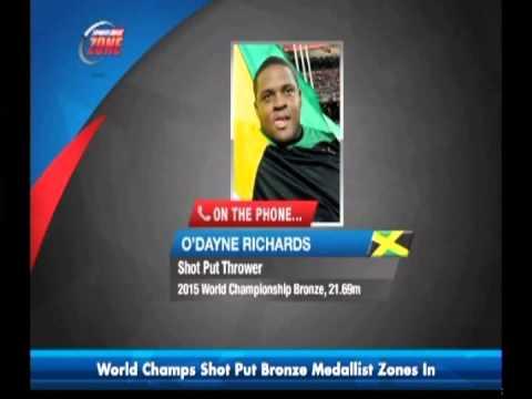 Odayne Richards recaps World Championships | CEEN Sports News | Sept 4, 2015