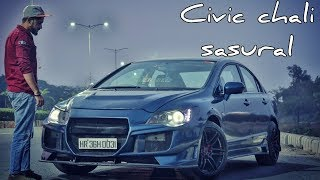Full Modified Honda Civic (FOR SALE) amazing features and very loud sound