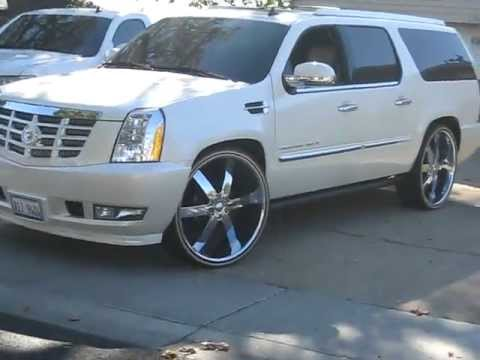 Escalade 2008 On 28 Inches Youtube