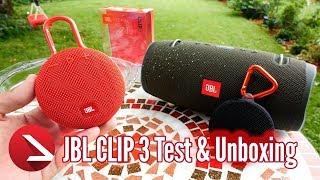 15% sparen beim JBL Clip 3 Kauf! | Test & Unboxing Video