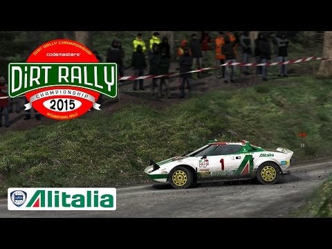 DiRT Rally - SEGA Edition - Alitalia Lancia Stratos