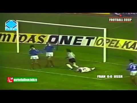 329 Отборочный матч ЧЕ 1988 г. Франция-СССР 0-2