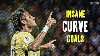 Neymar Jr ●  The Most INSANE Curve Goals & Free Kicks Ever | HD