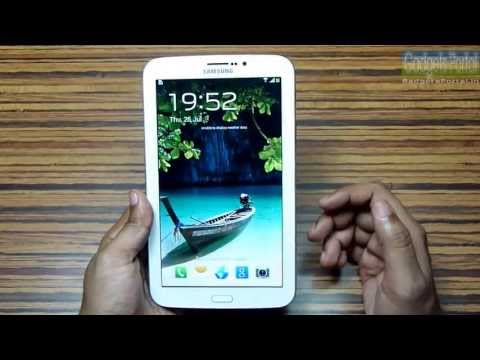 Samsung GALAXY TAB 3 T211 7.0 [with SIM support] Unboxing & Hands on REVIEW by Gadgets Portal