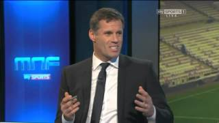 Jamie Carragher & Gary Neville can