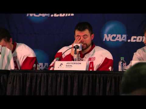 Men's Hockey Post Game Press Conference - 3/28/14