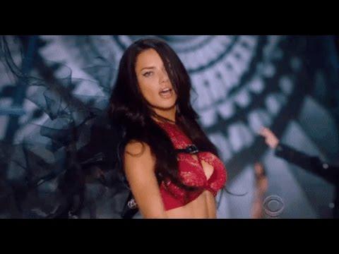 Adriana Lima Victoria's Secret Runway Walks (1999 - 2016) HD
