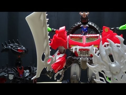Mascot Reviews Transformers Prime BEAST HUNTER OPTIMUS PRIME