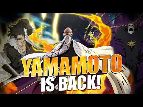 THE RETURN OF YAMAMOTO! Bleach Brave Souls