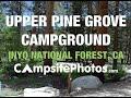 Upper Pine Grove Campground, California Campsite Photos