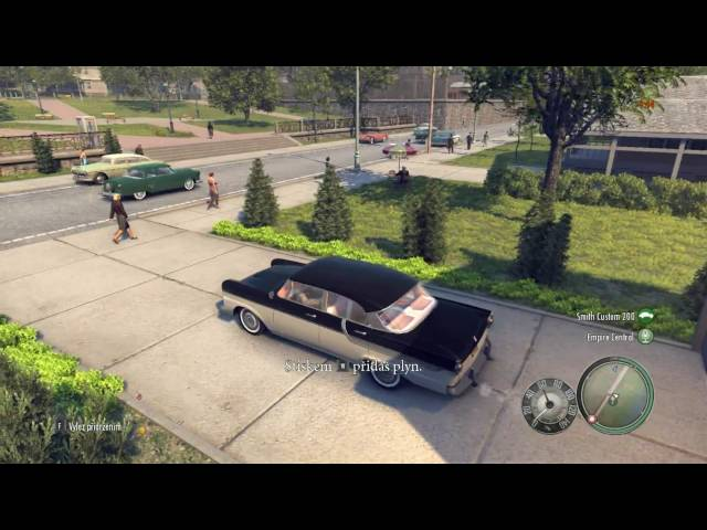 Mafia 2 CZ Demo Gameplay HD