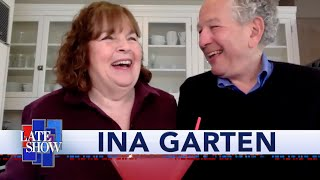 Ina Garten Makes Her Signature Quarantine Cocktail With Stephen Colbert