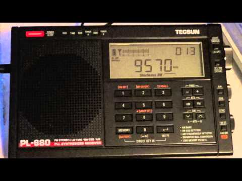 China radio International on new Tecsun PL 680 shortwave radio