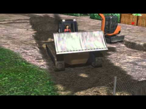 Der Bagger-Simulator 2011 - Gameplay Review