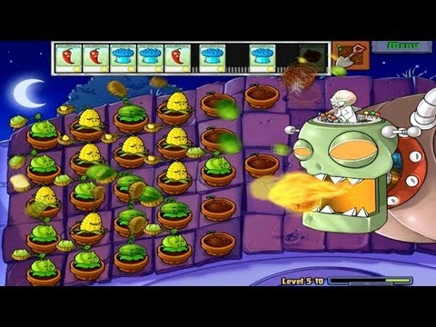 Plants vs. Zombies Last Level. Final Boss Fight and Ending PC
