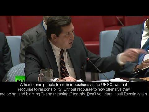 Russia blows a fuse - UN, NBC, Sean Spicer get told