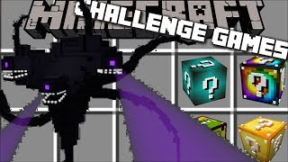 Minecraft CHALLENGE GAMES WITHER STORM / FIGHT THE WITHER STORM AND SURVIVE!! Minecraft