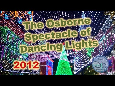 Sams Disney Diary Episode #21 - The Osborne Family Spectable of Dancing Lights 2012