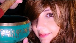 Binaural ASMR Reiki Role Play With Guided Breathing Exercise And A Singing Bowl For Relaxation