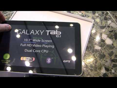 Samsung Galaxy Tab 10.1 Unboxing (Google I/O Limited Edition)