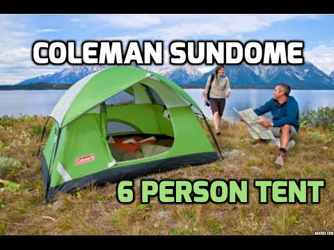 Coleman Sundome 6 Person Tent Review - 1080p HD