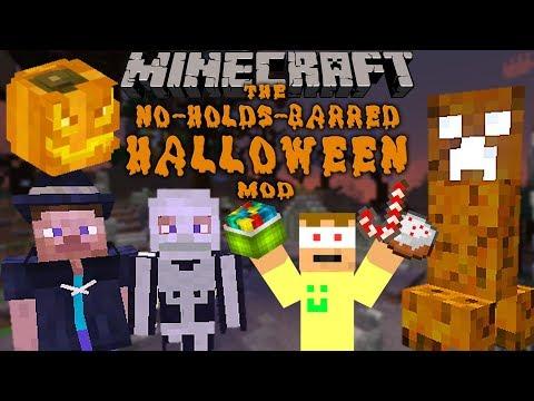 Minecraft: HALLOWEEN!!! - The No-Holds-Barred Halloween Mod Bemutató