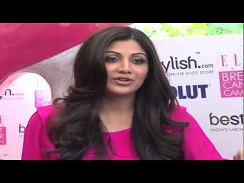 Shilpa Shetty at 'BeStylish Breast Cancer Awareness'