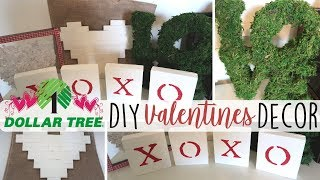 DIY Dollar Tree FarmHouse Valentines Decor | Collab w/ Little Bit of Calm and Crazy