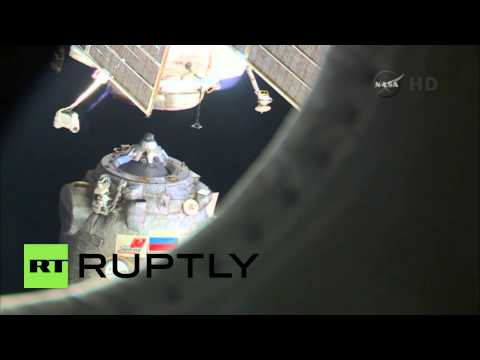ISS: Soyuz TMA-14M successfully undocks from ISS, heads back to Earth