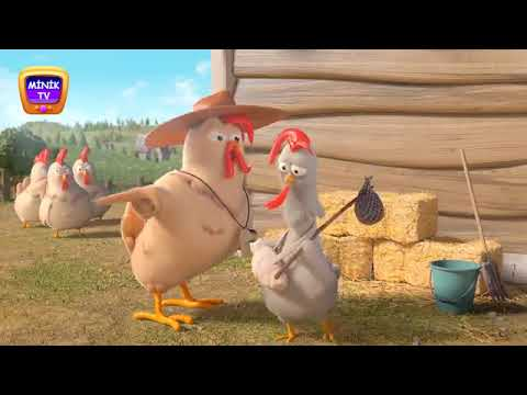 نغمة الفرخة Funny Chicken Song for Kids YouTube